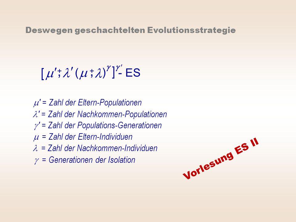 , ,   [ m m ] l l ( ) - ES Vorlesung ES II 